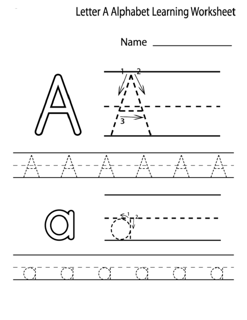 free learning printables alphabets