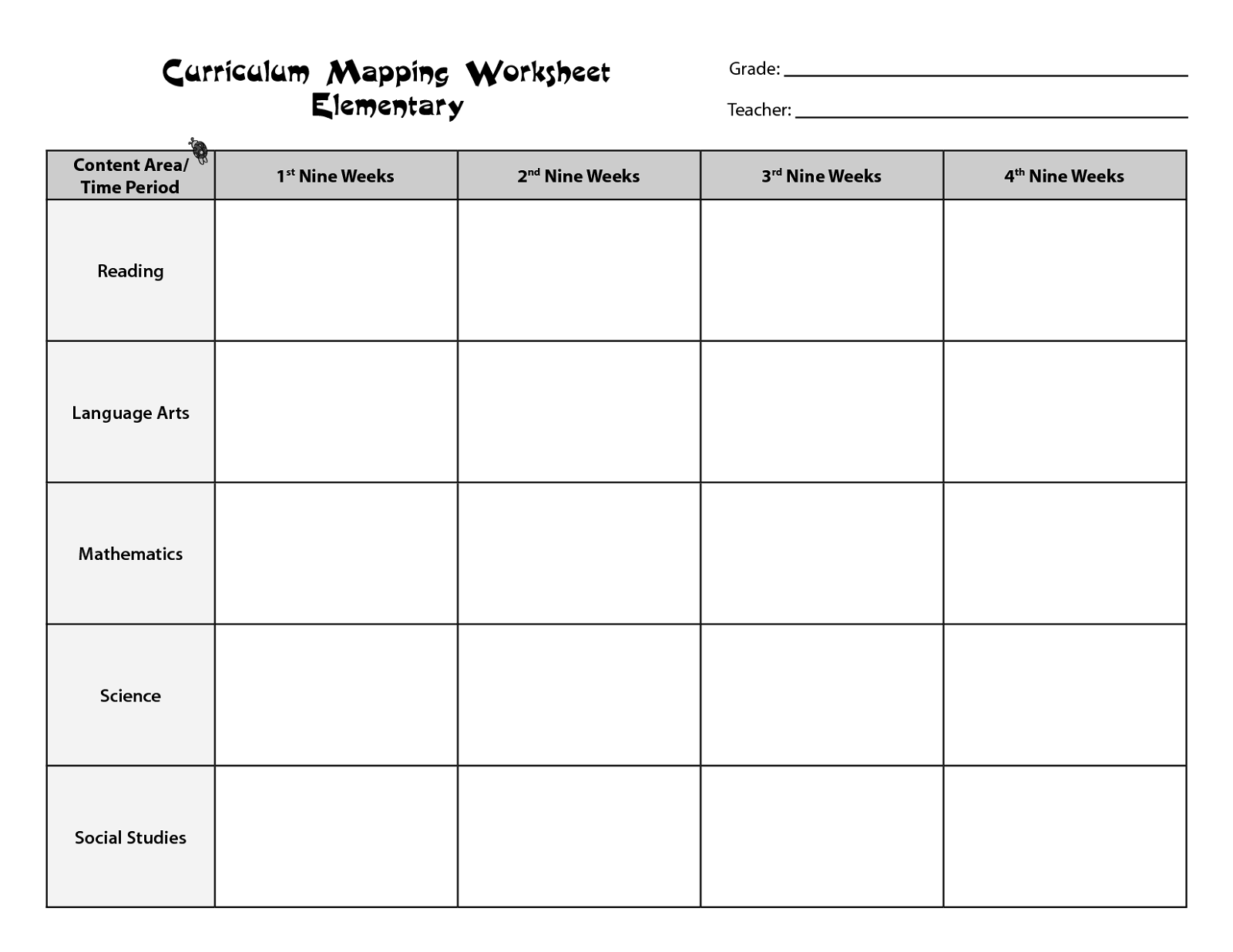 free worksheets for teachers 3