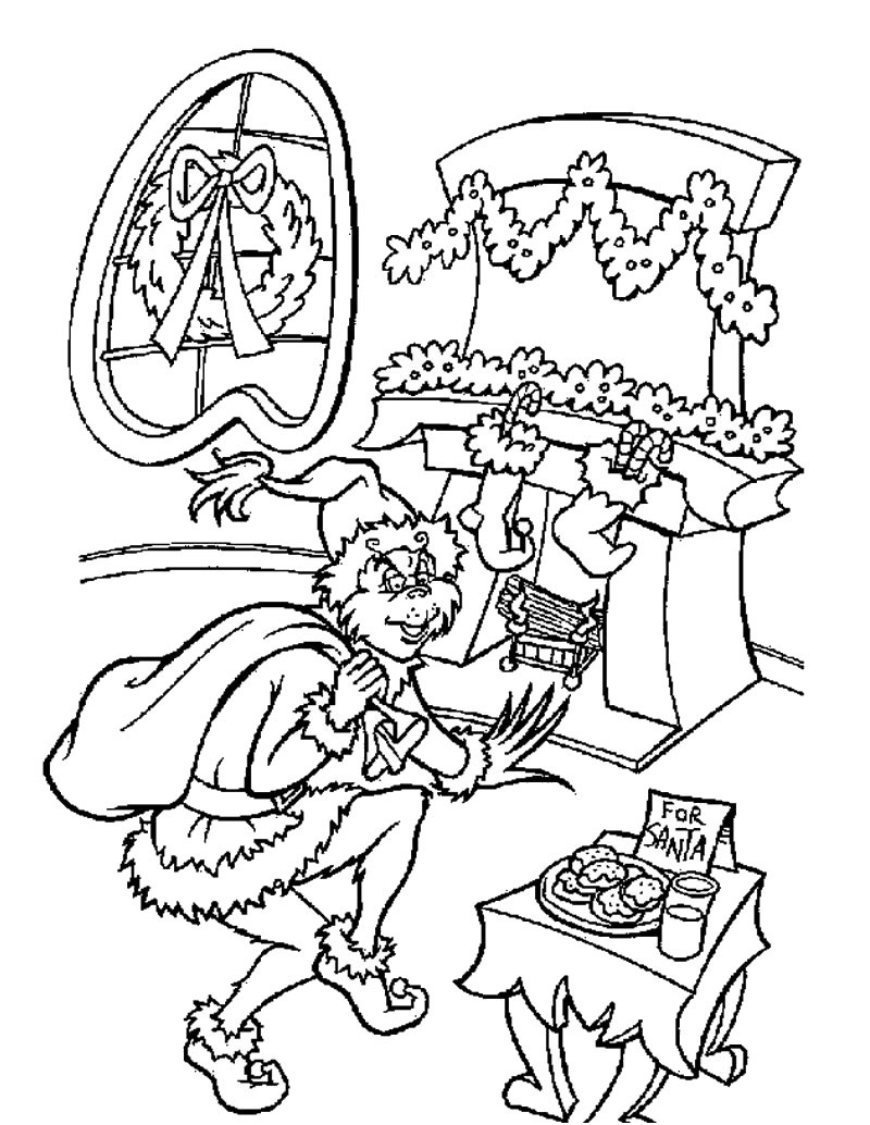 grinch coloring pages 4