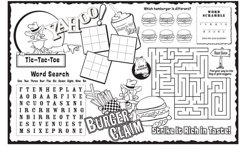 Kids Activity Sheets 1 Downloadable