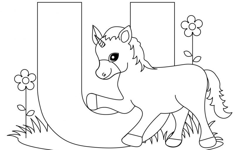 Letter A Coloring Pages Quick Usage