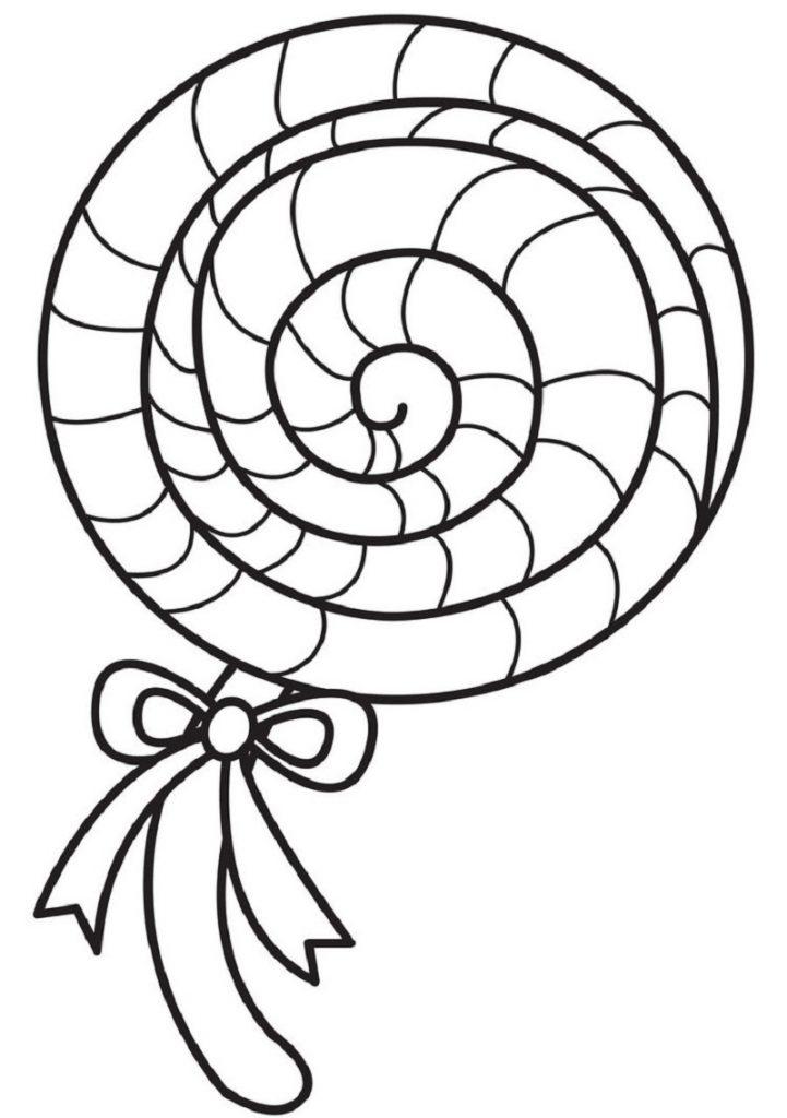 lollipop coloring page 5