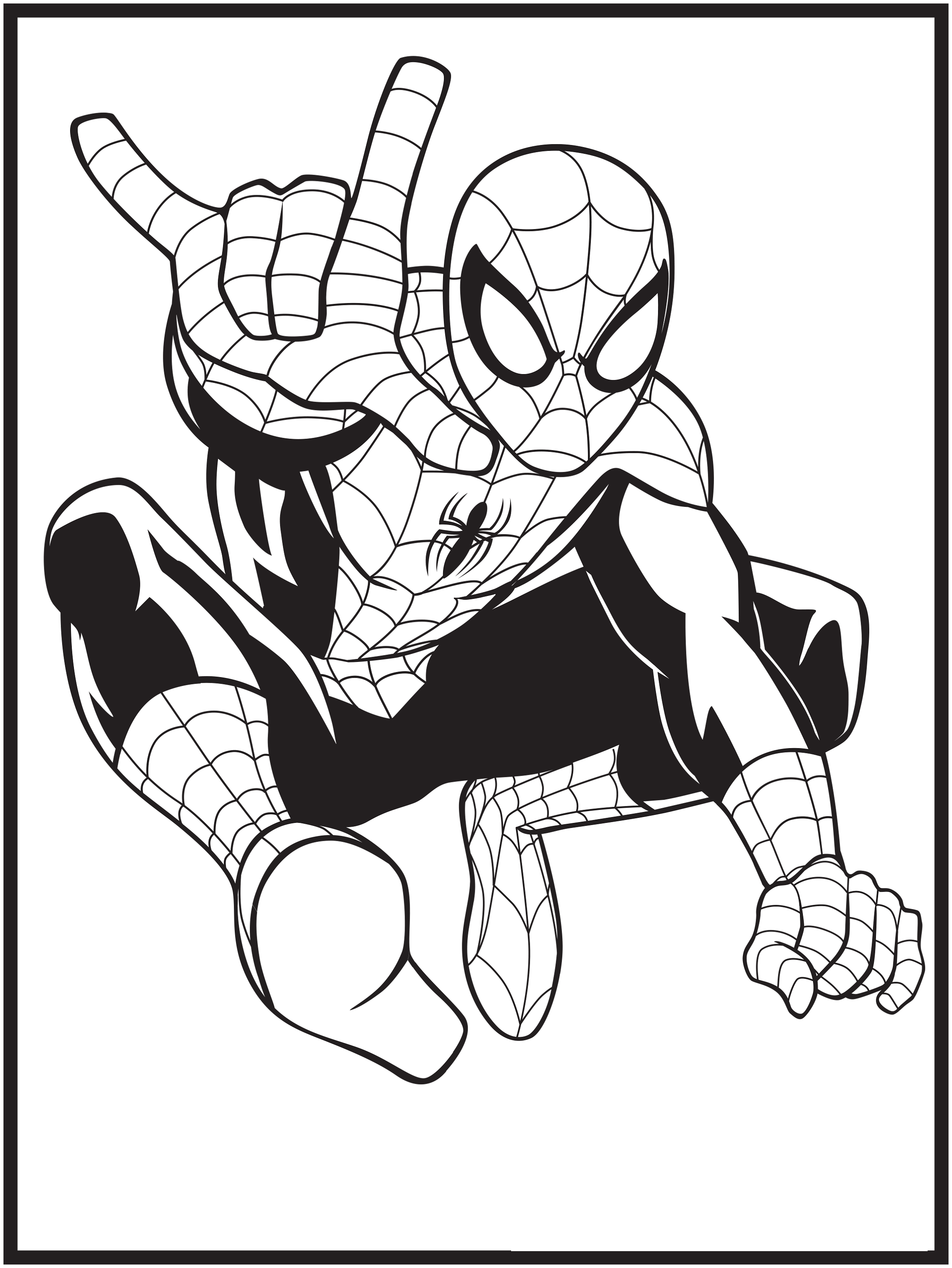 marvel coloring pages 1