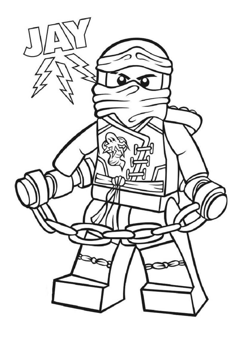 ninjago jay coloring pages 2