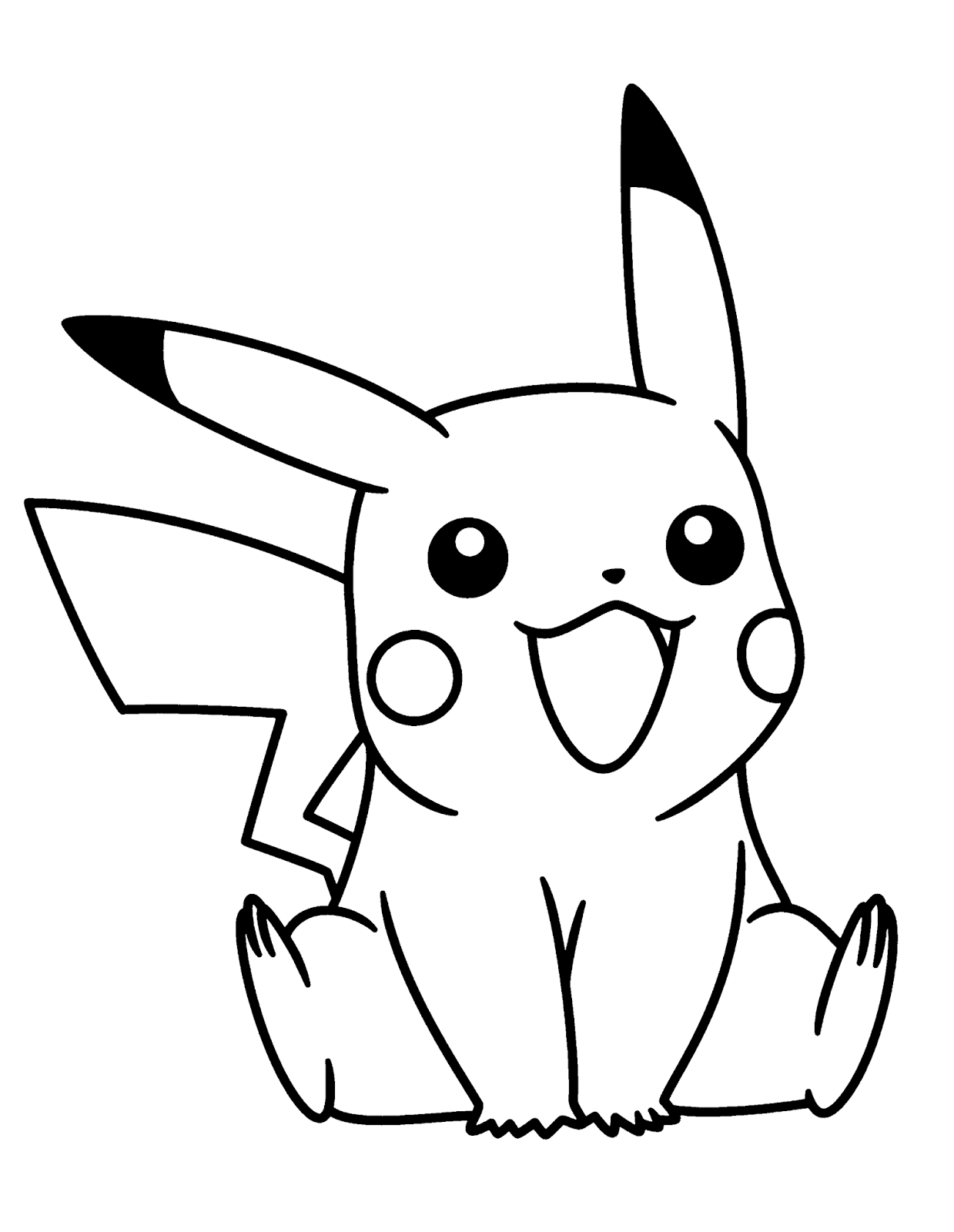 pokemon printable coloring pages 3