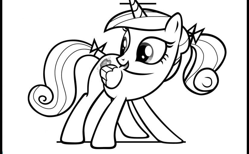 princess cadence coloring pages 2
