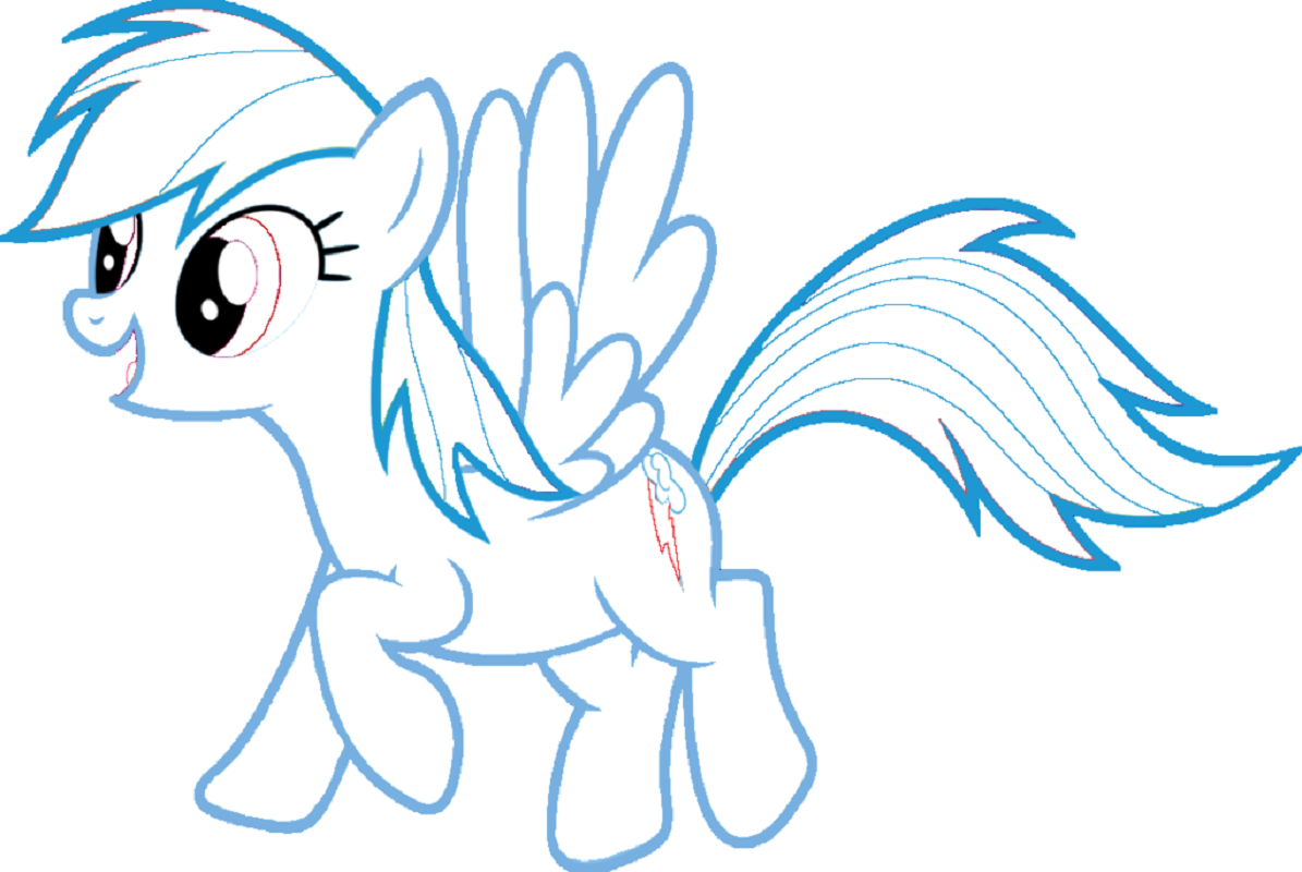 rainbow dash coloring pages 2