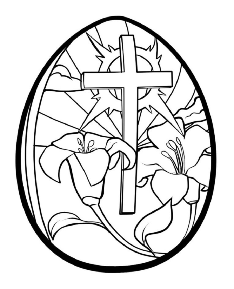 religious easter coloring pages 4