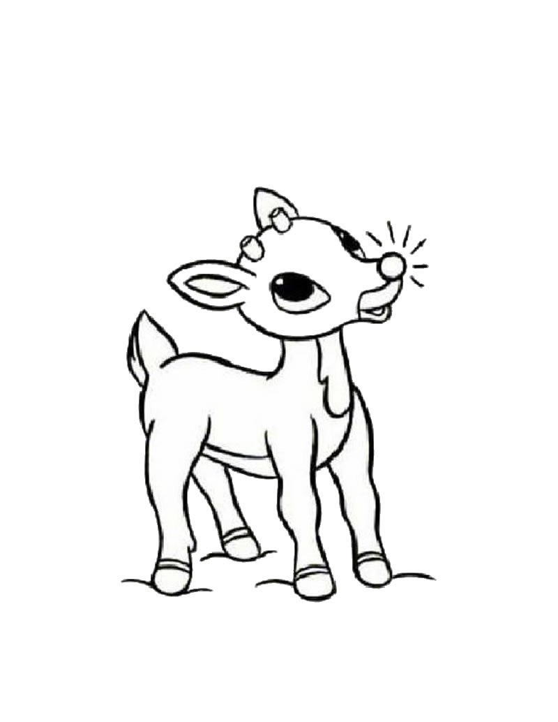 rudolph coloring pages 5