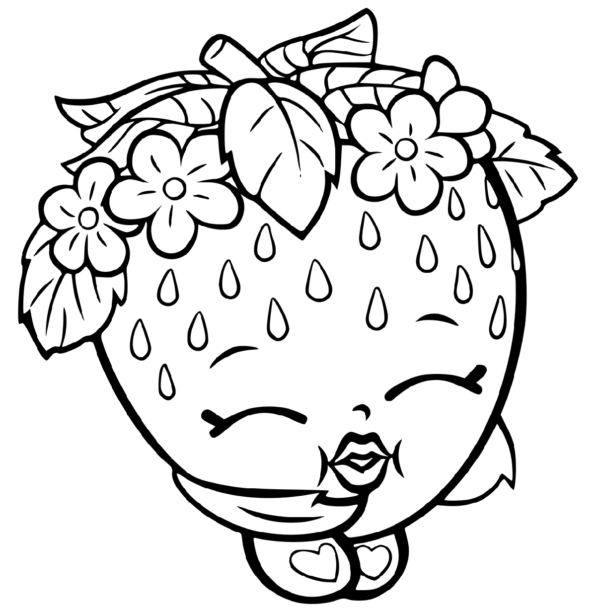 graphic about Shopkins Coloring Pages Printable titled Shopkins Coloring Images for Innovative and More youthful