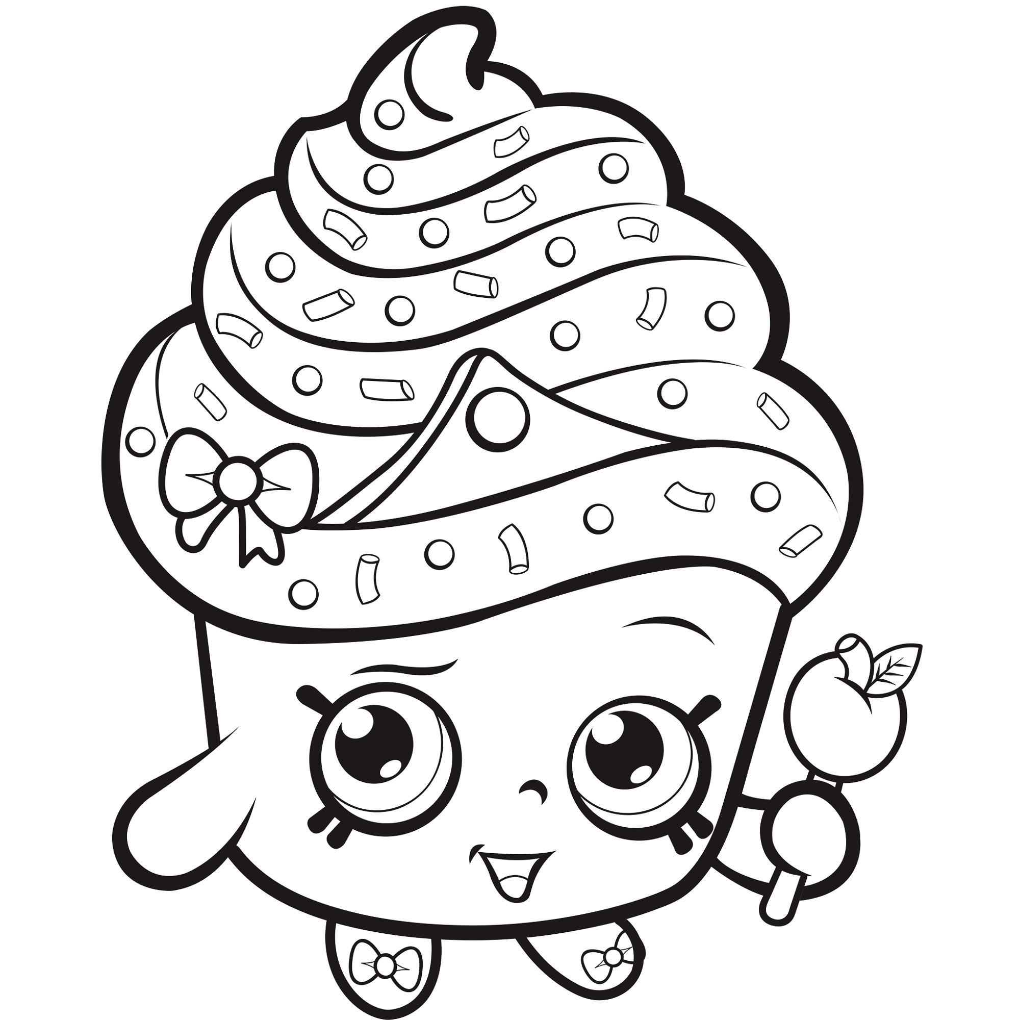 shopkins coloring pictures 4