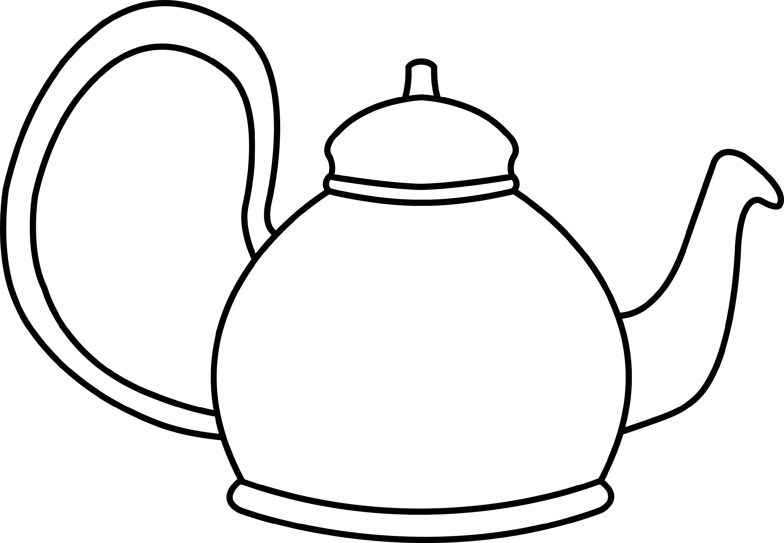 teapot coloring page 4