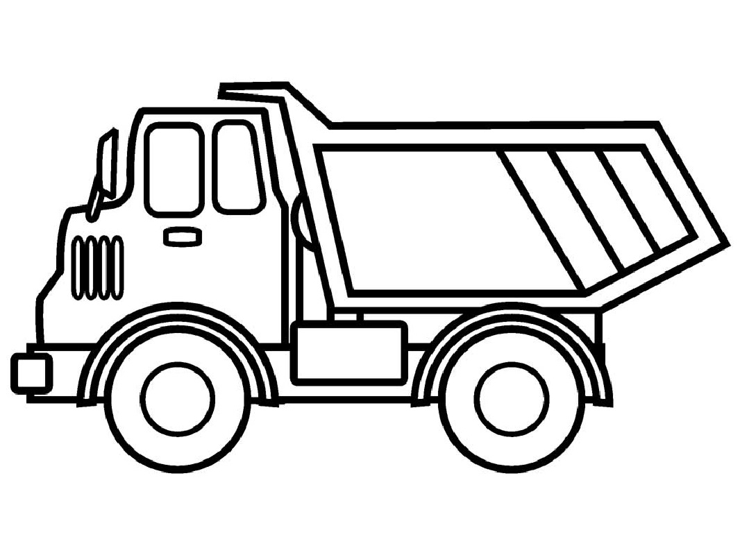 truck coloring pages monster
