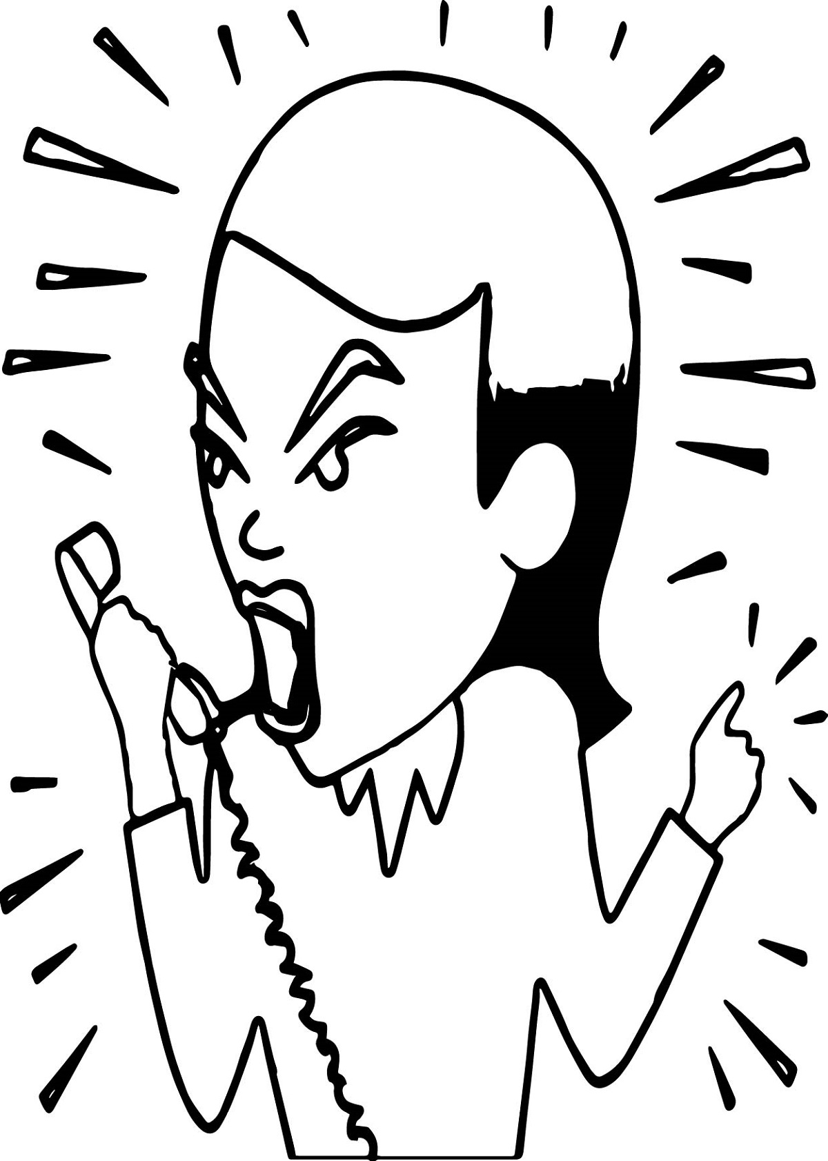 anger management coloring pages 2