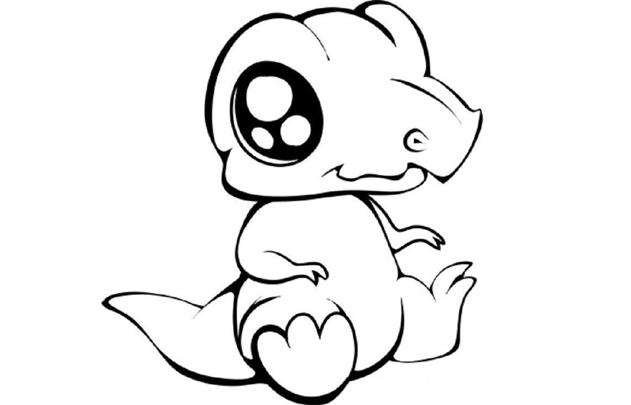 baby dinosaur coloring pages 5