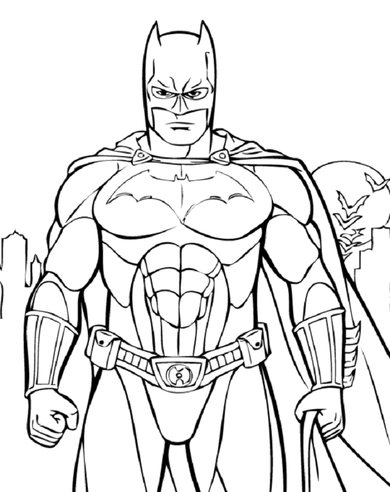 batman coloring pages 3