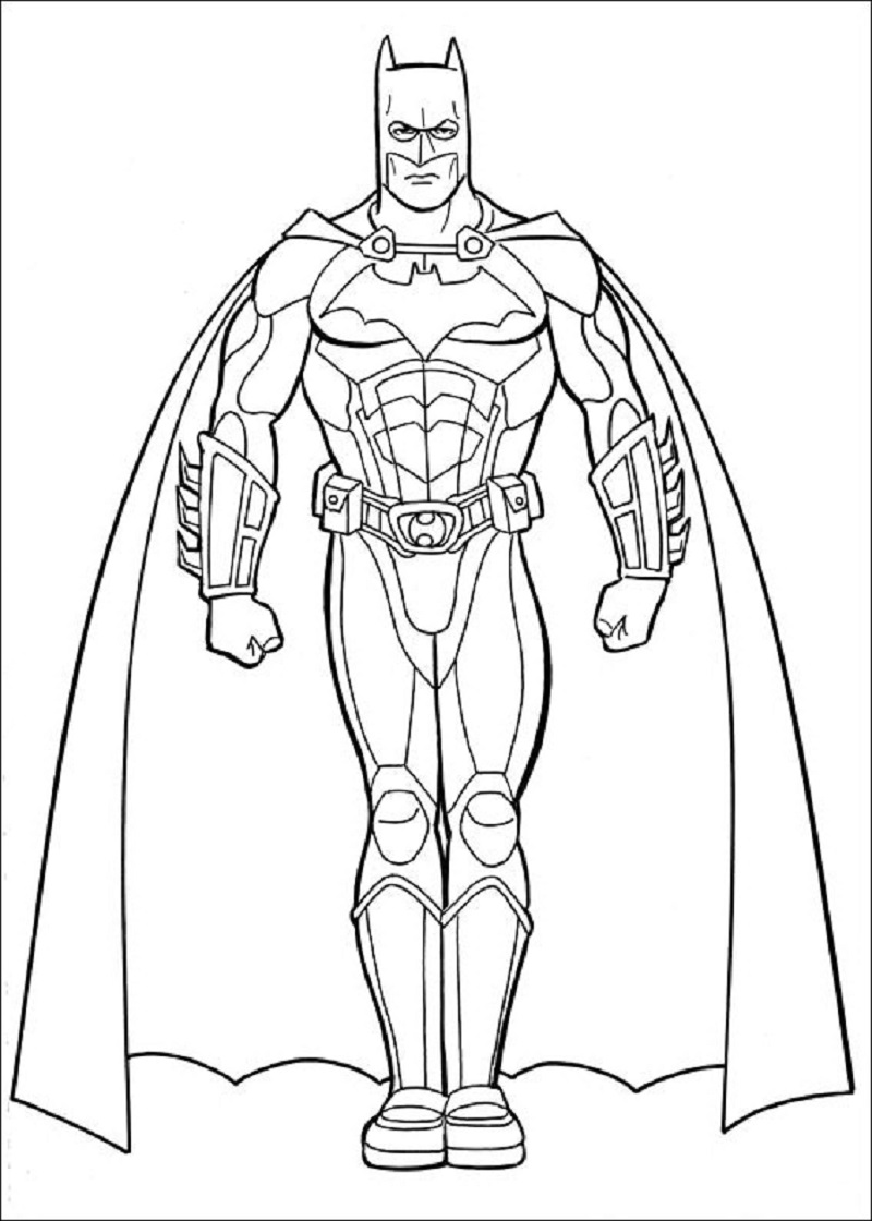 batman coloring pages 4