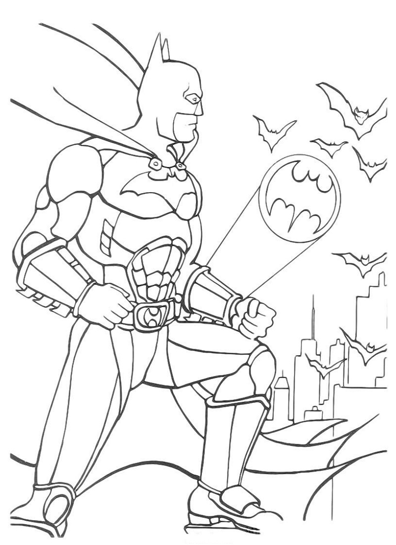 batman coloring pages 5