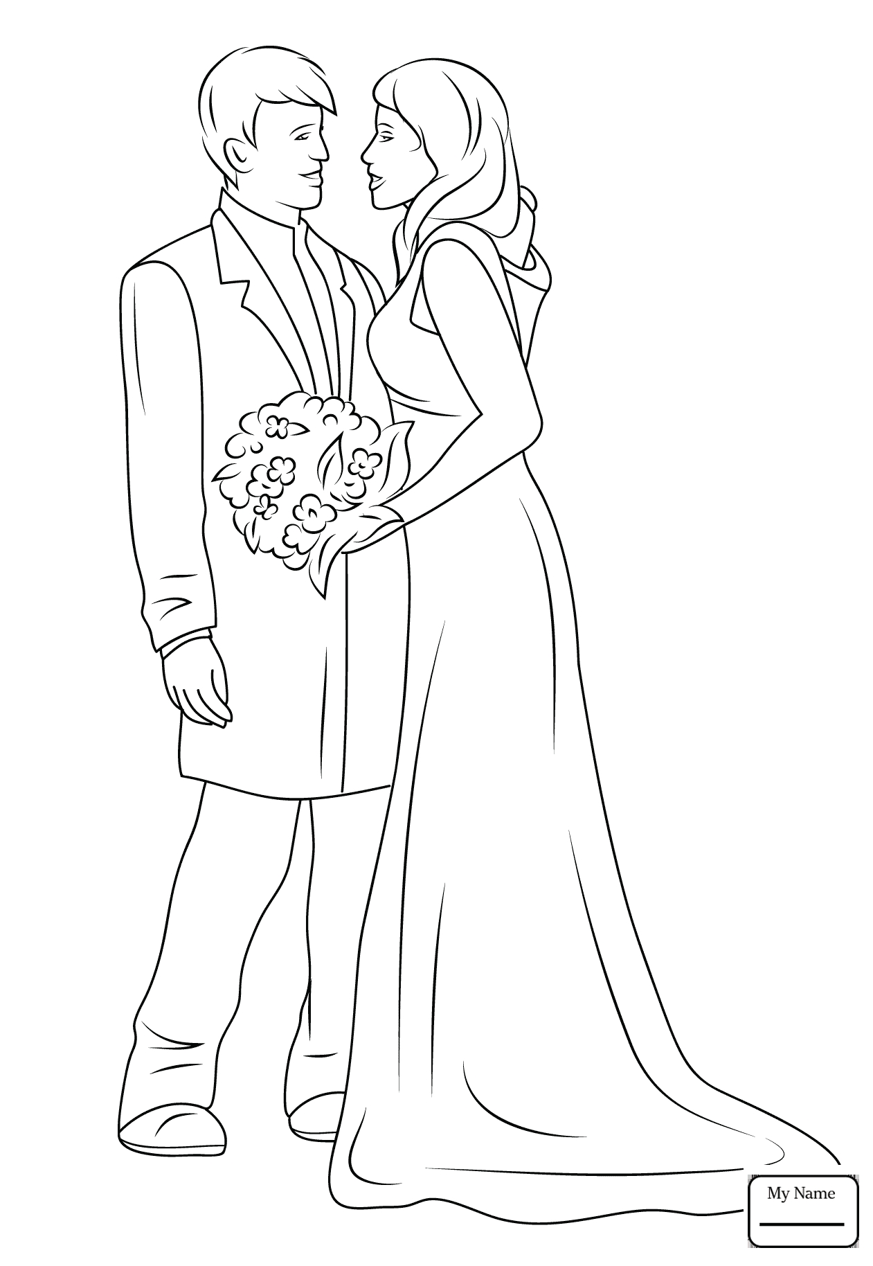 bride-and-groom-coloring-pages-1