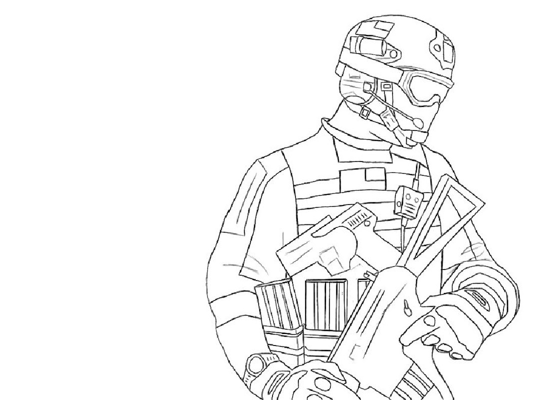 call of duty coloring pages 2