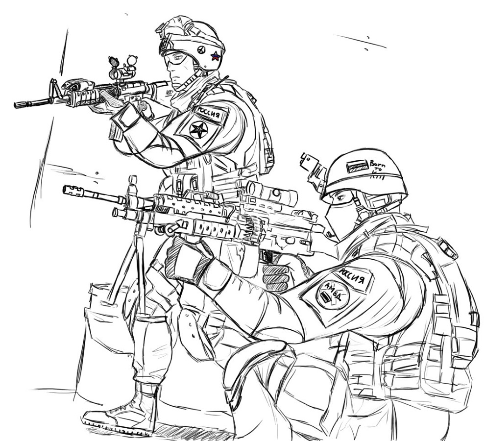 call of duty coloring pages 3