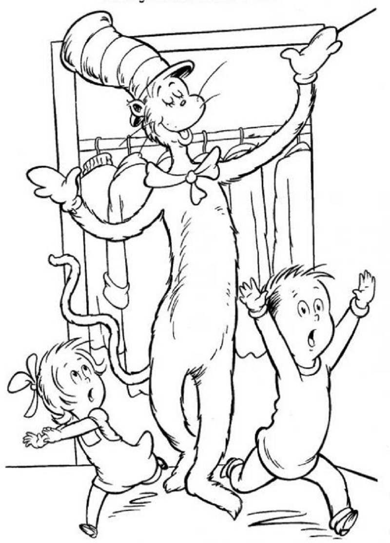 dr seuss coloring pages 3