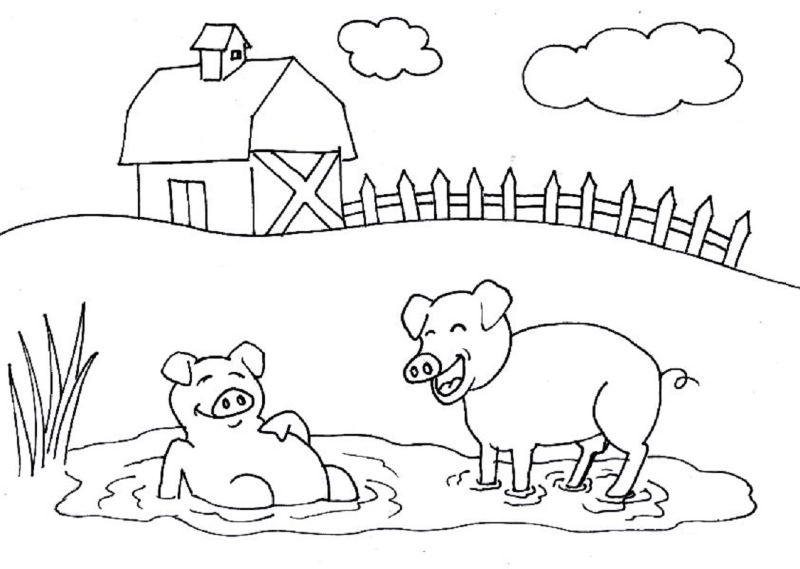 farm coloring pages 5