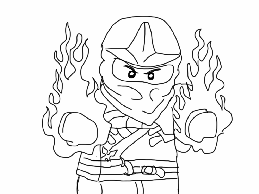 free ninjago coloring pages 1