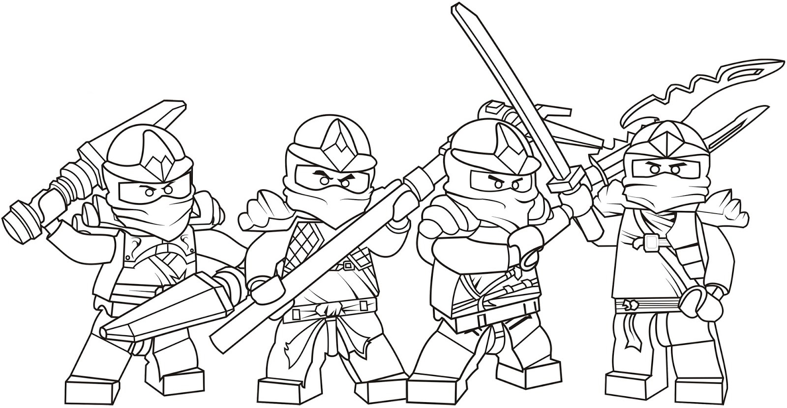 free ninjago coloring pages 2