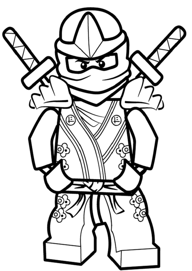 free ninjago coloring pages 3