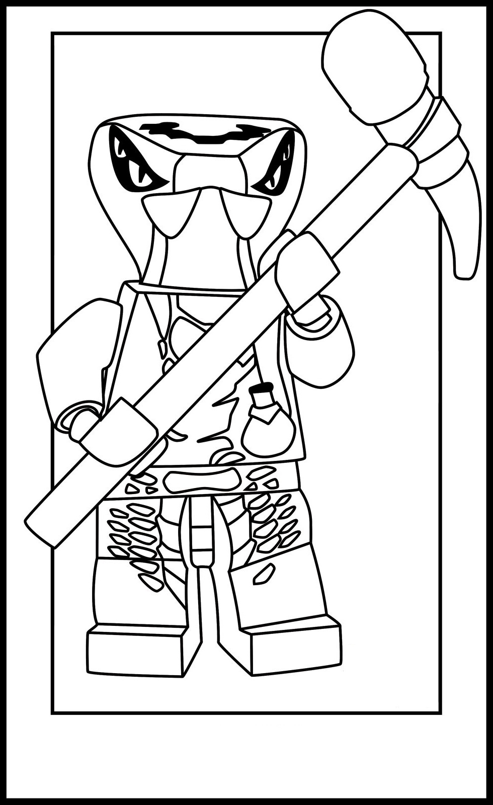 free ninjago coloring pages 4