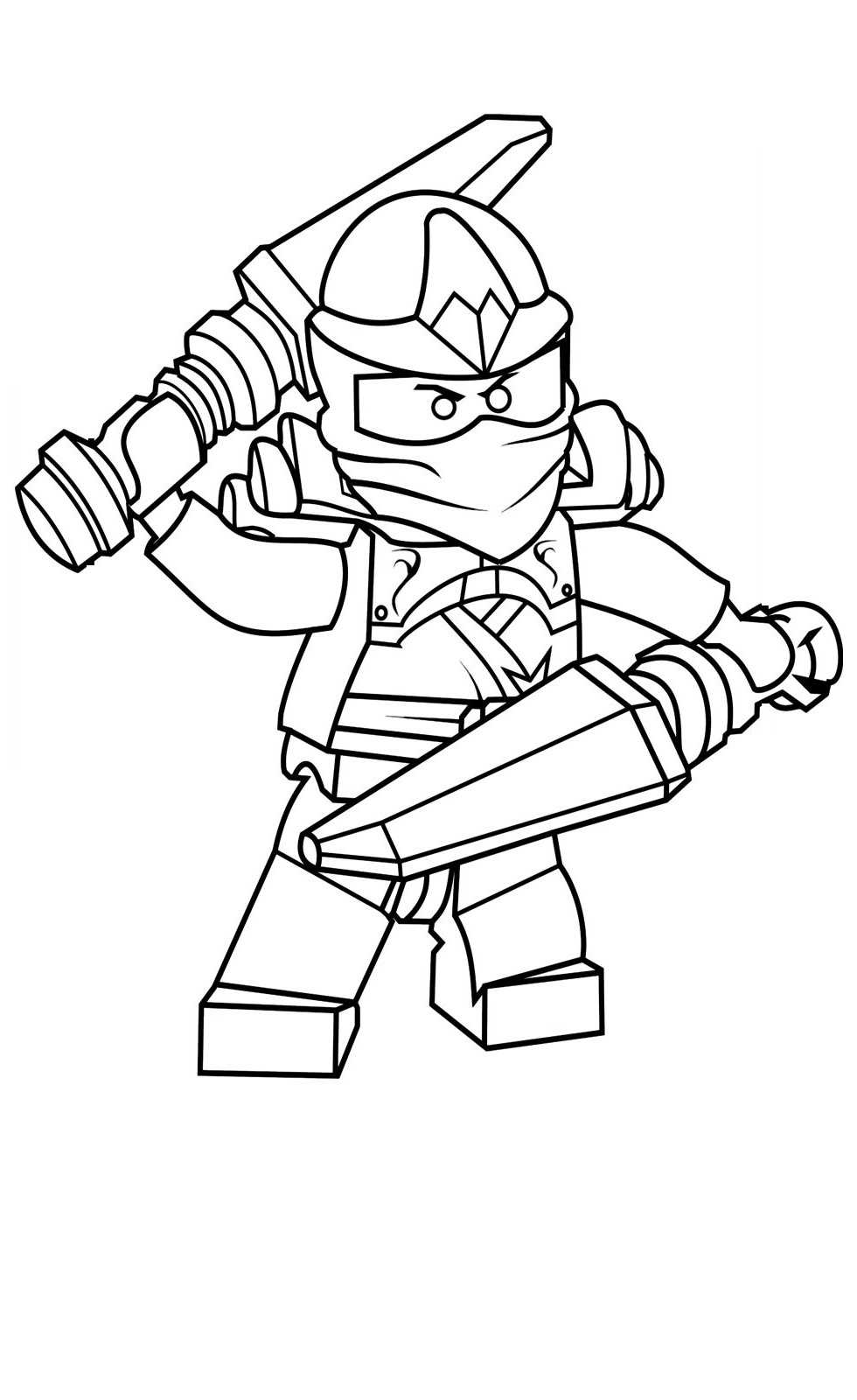 free ninjago coloring pages 5