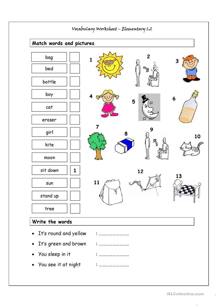 free printable elementary worksheets 3
