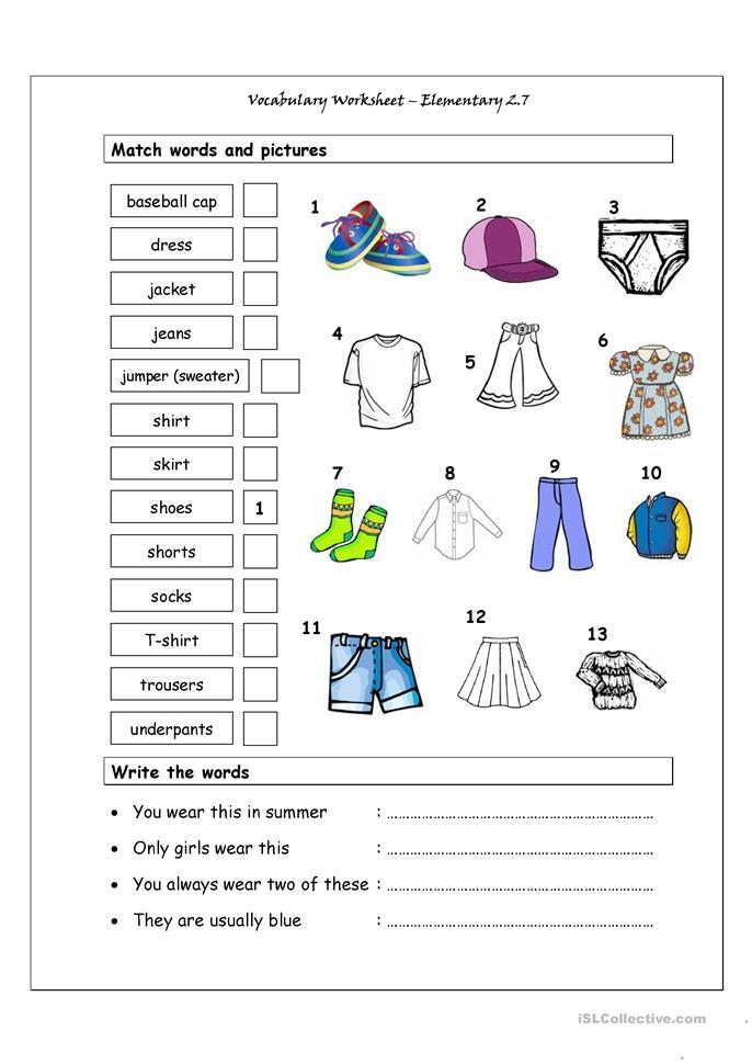 free printable elementary worksheets 5