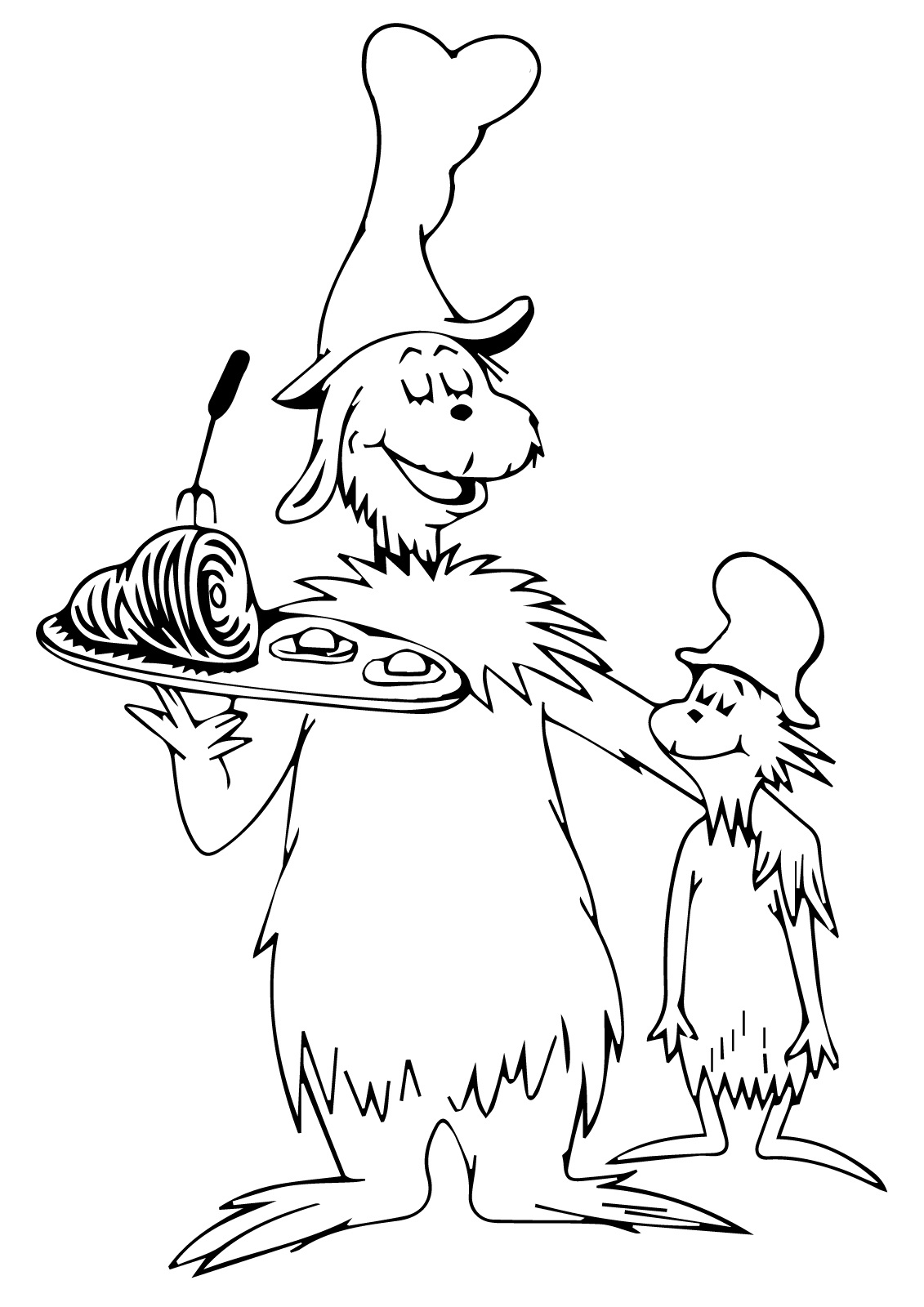 green eggs and ham coloring pages 1