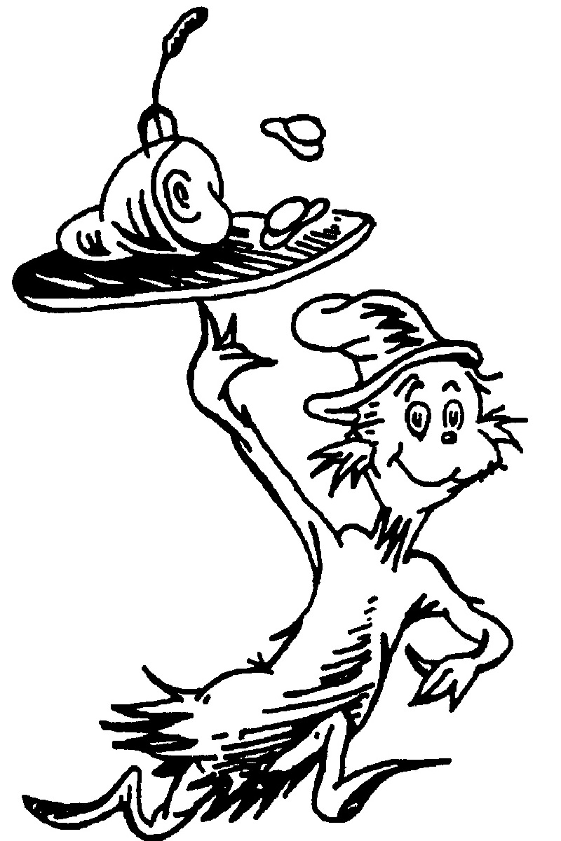 green eggs and ham coloring pages 4