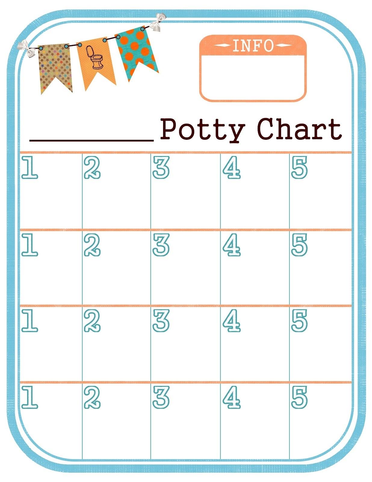 printable potty chart 1