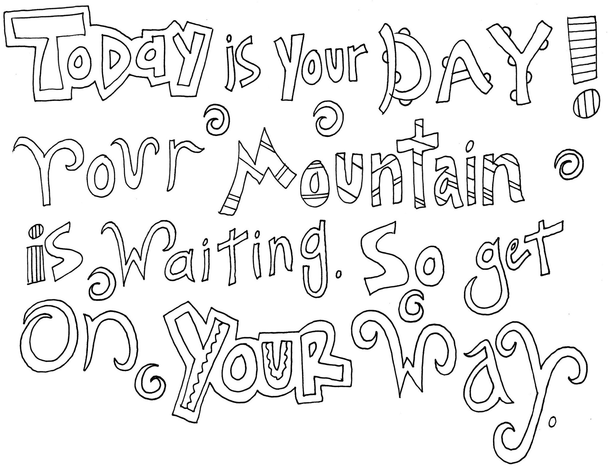 quote coloring pages 3