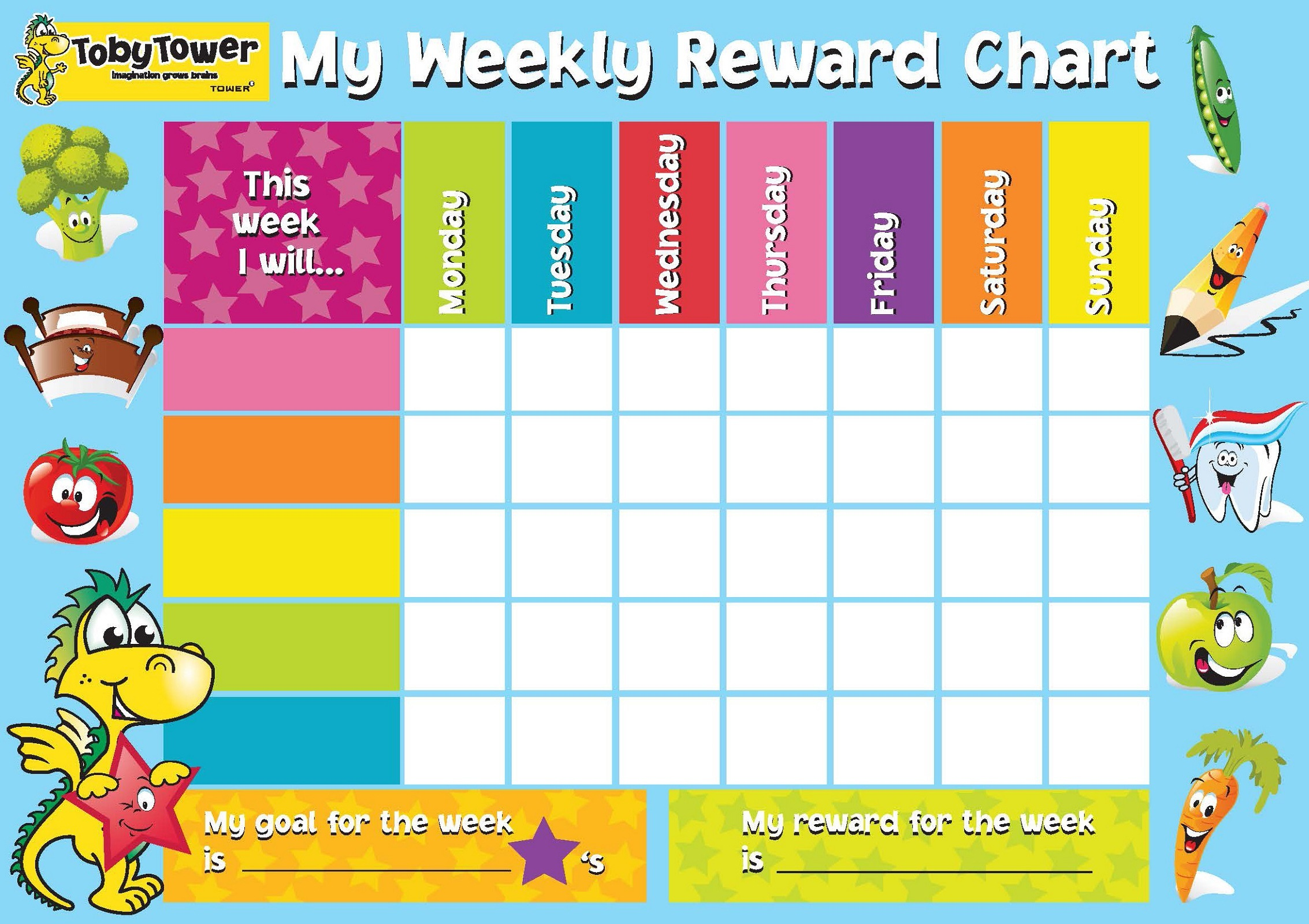 reward chart template 2