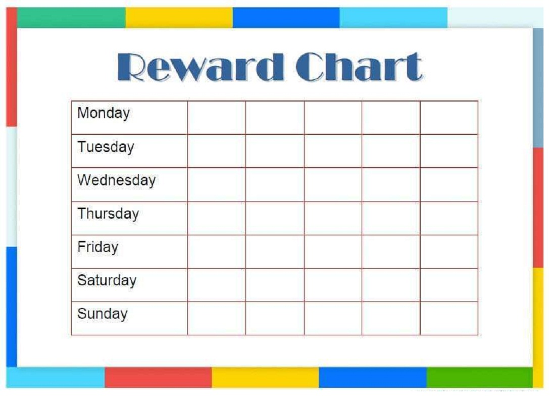 reward chart template 4