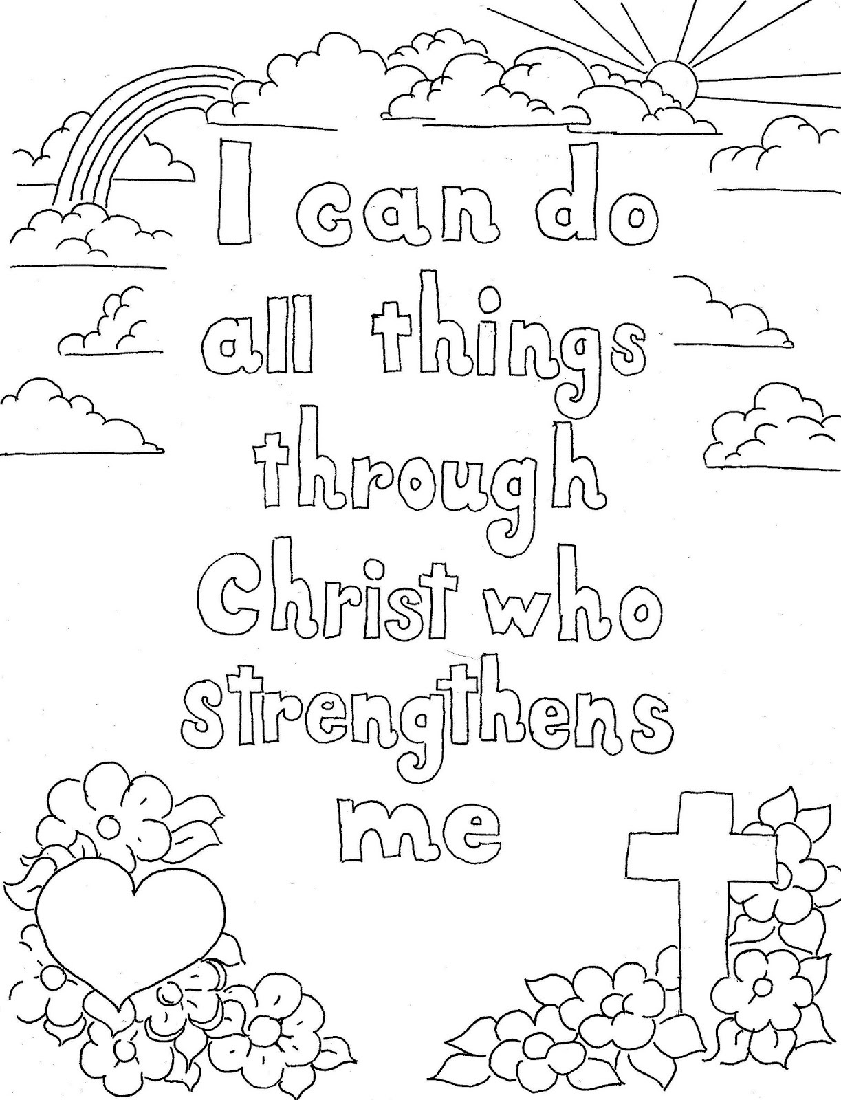 scripture coloring pages 3
