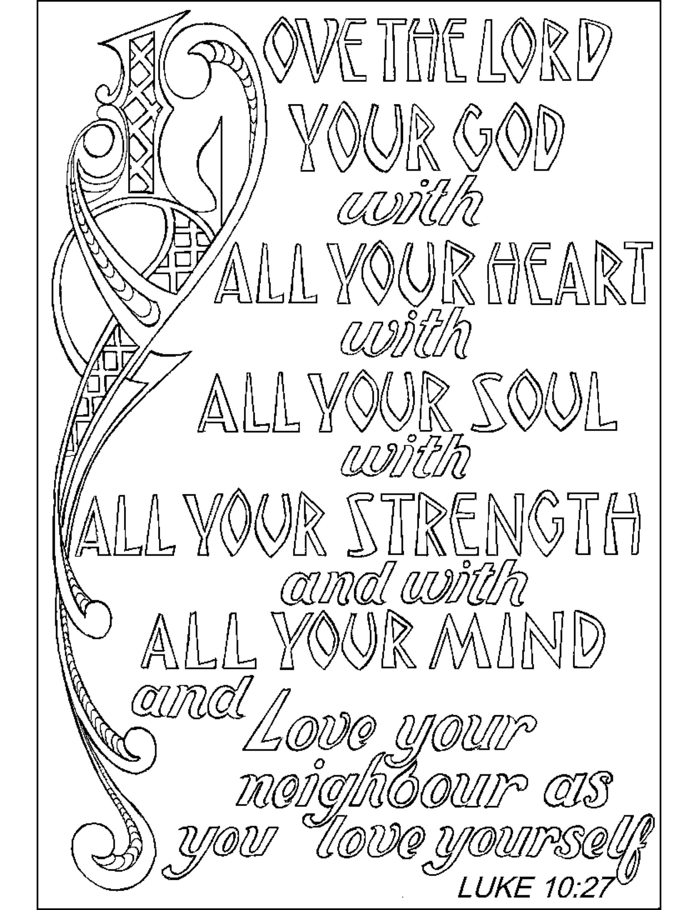 scripture coloring pages 4
