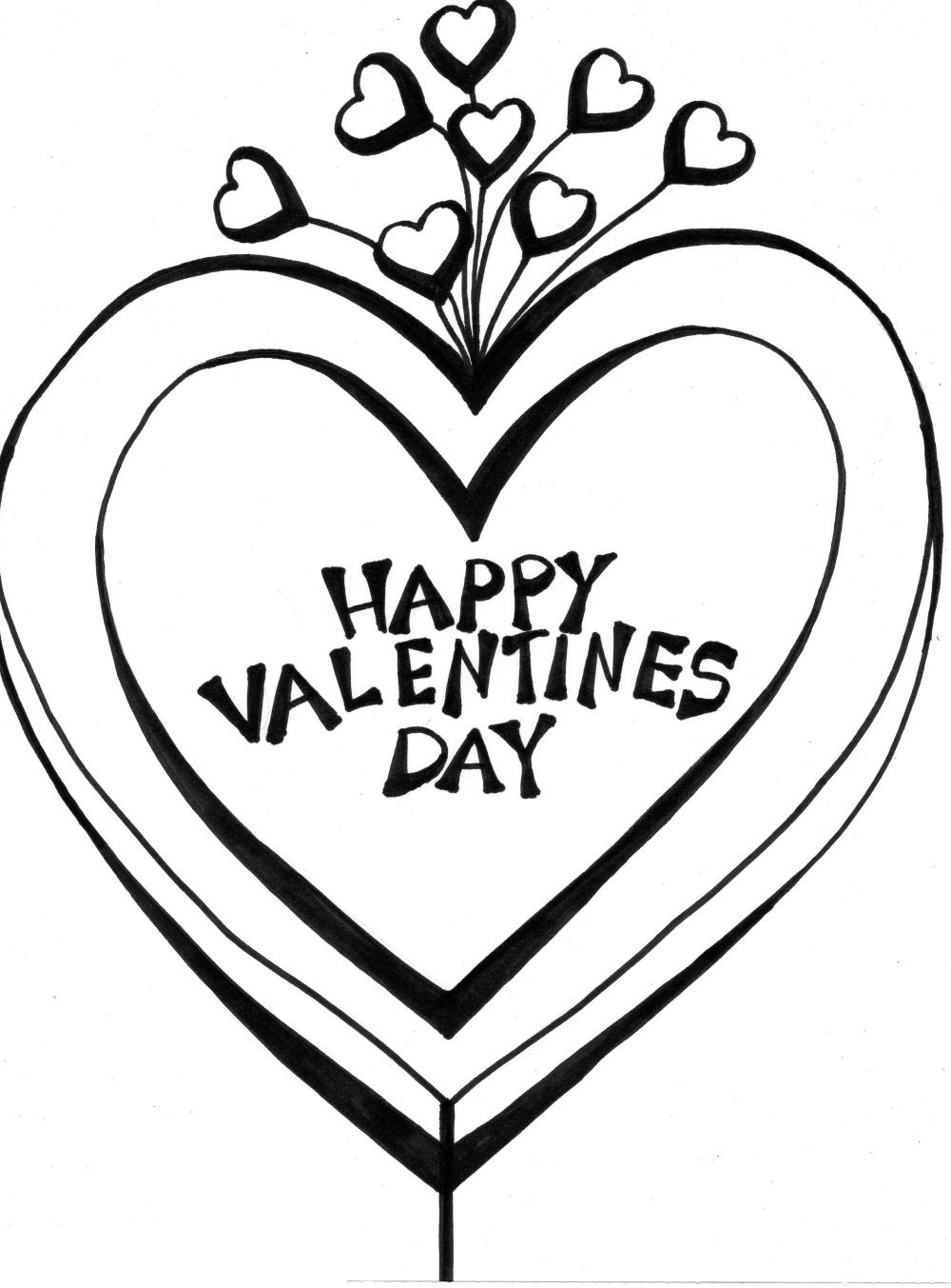 valentines day coloring pages 5