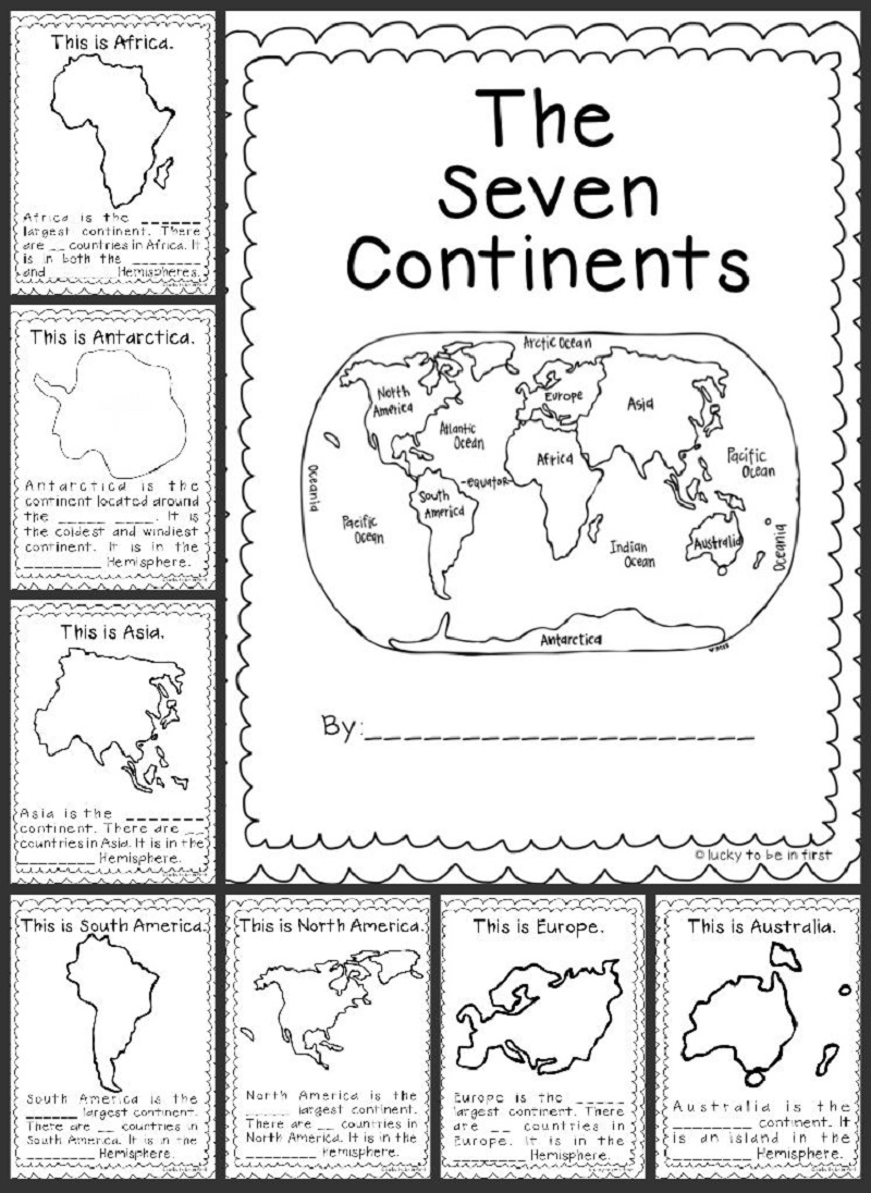 Geography worksheets five