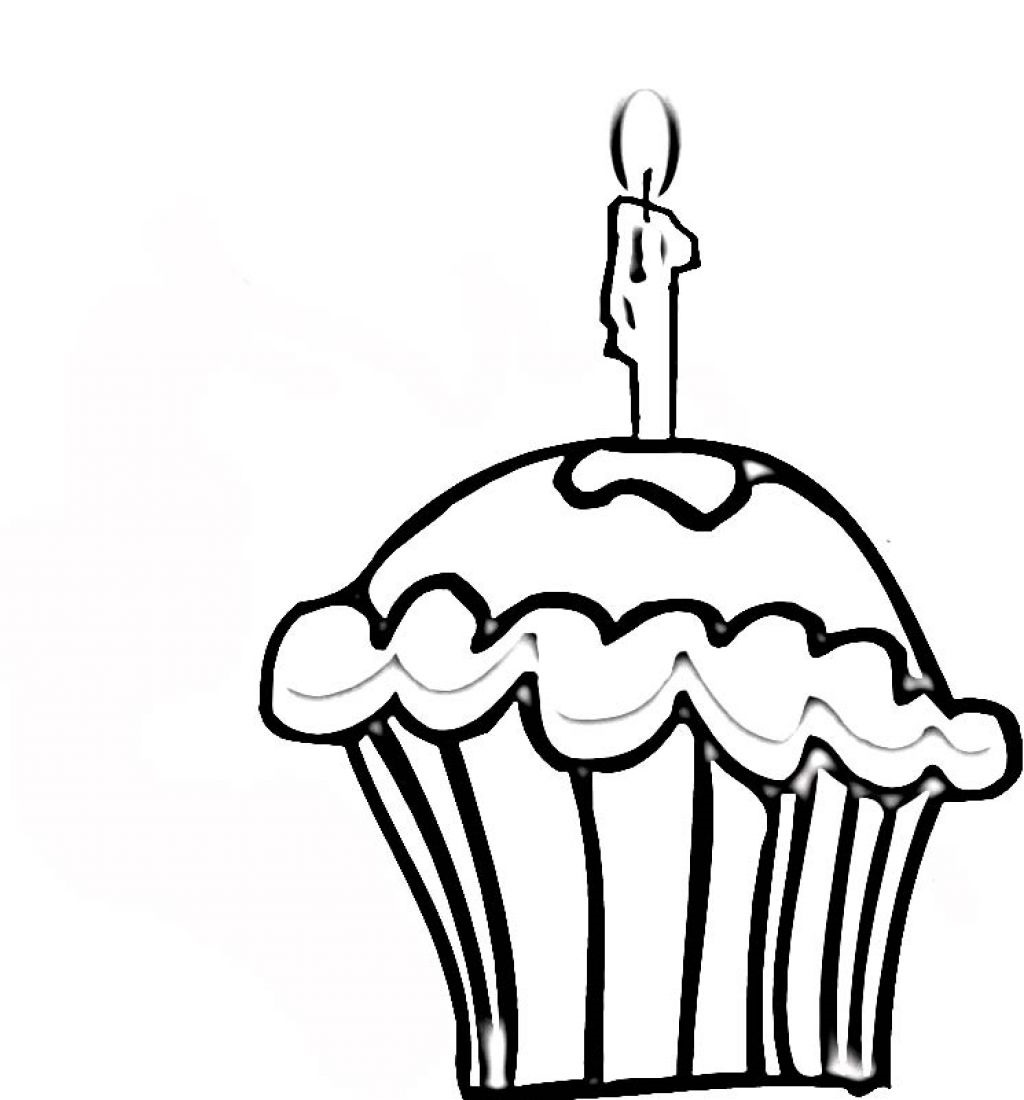 cupcake coloring pages cupcake 4