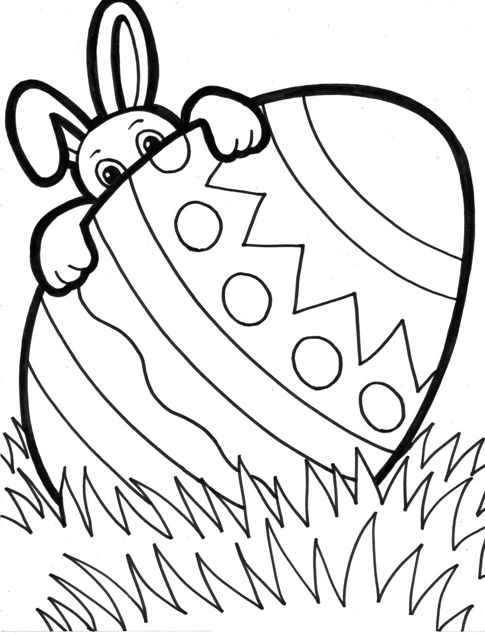 free easter coloring pages 2