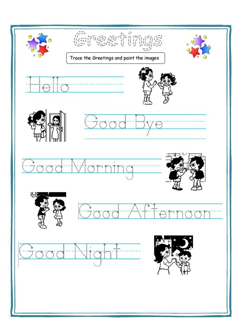 free worksheets for kids 5