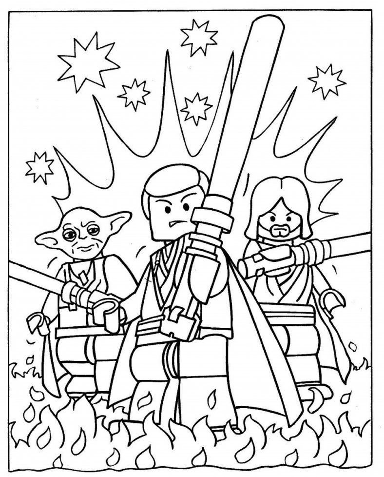 lego coloring pages 2