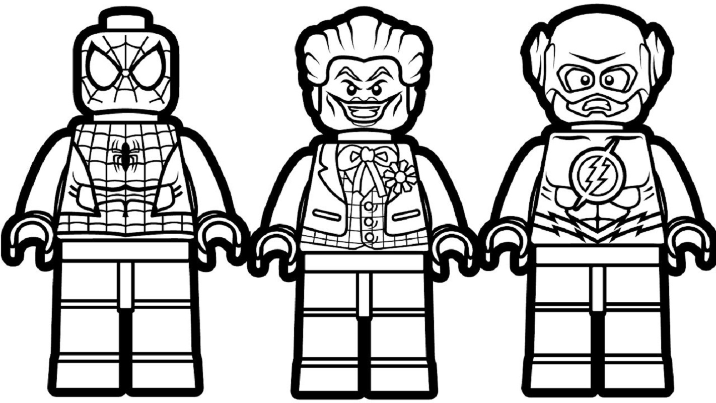 lego coloring pages 3