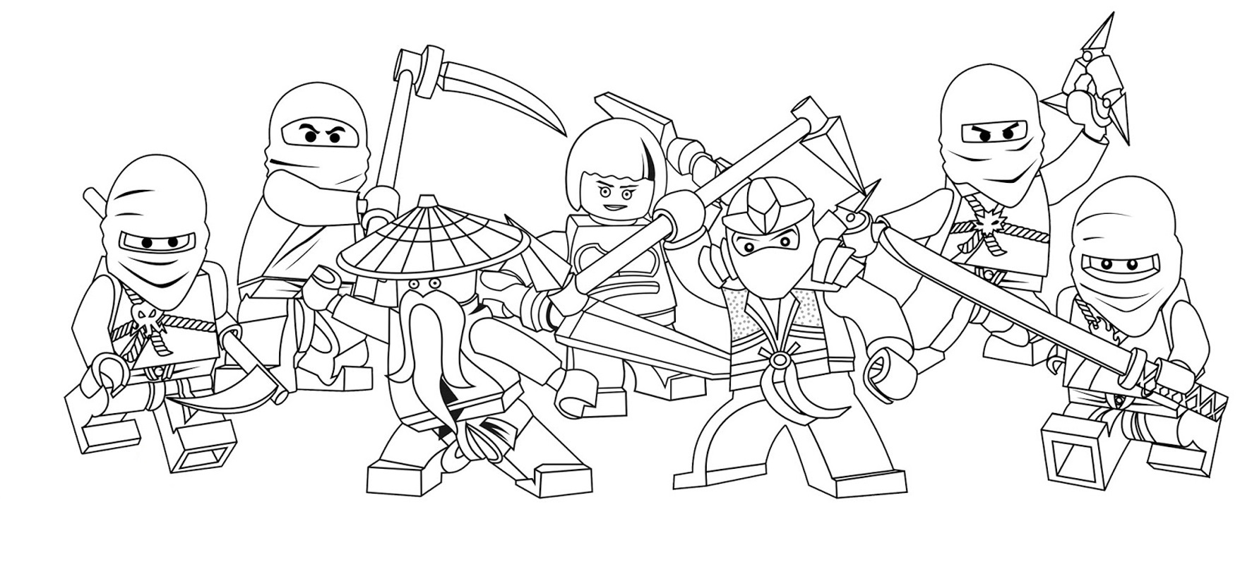 lego coloring pages 4